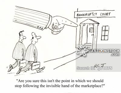 'Are you sure this isn't the point in which we should stop following the invisible hand of the marketplace?'