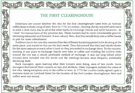 FirstClearningHouse